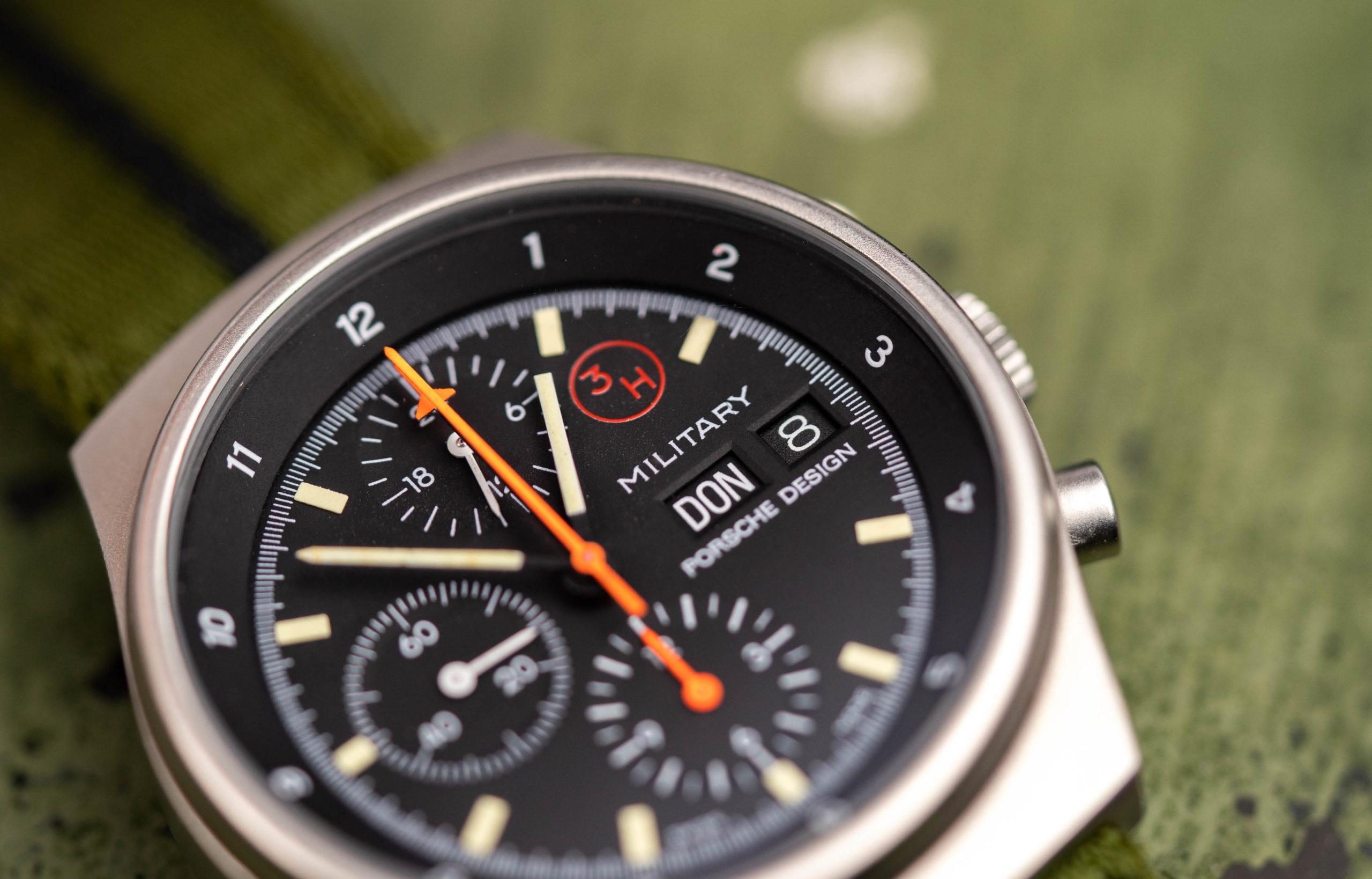 Read more about the article Vintage-Leitfaden: Orfina Porsche Design Bundeswehr Chronograph mit Lemania 5100