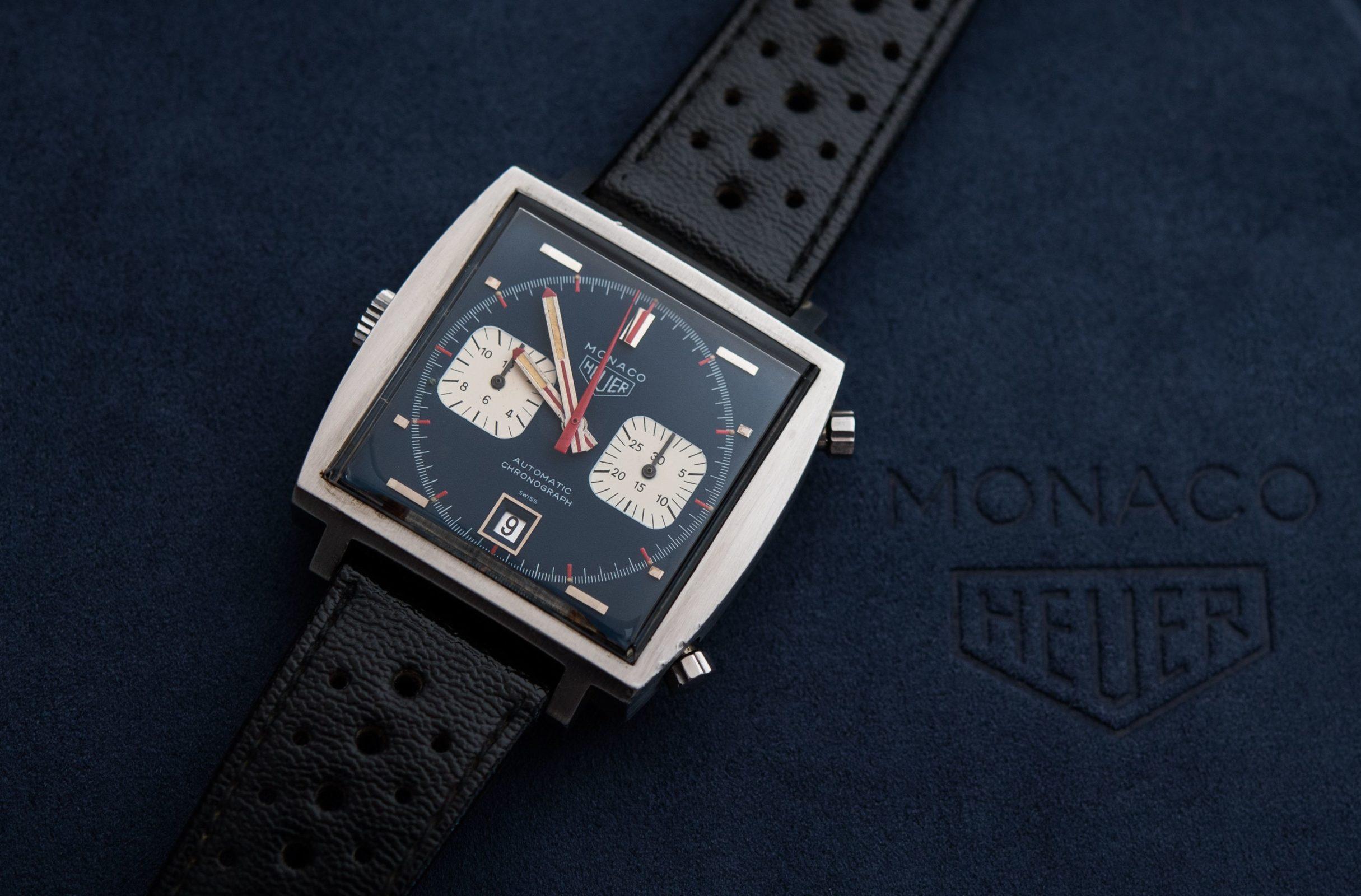 """Read more about the article TAG Heuer Monaco: Steve McQueen Film-Uhr aus """"Le Mans"""""""