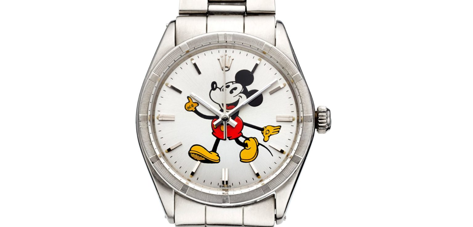 Rolex Mickey Mouse Swiss Made Uhr