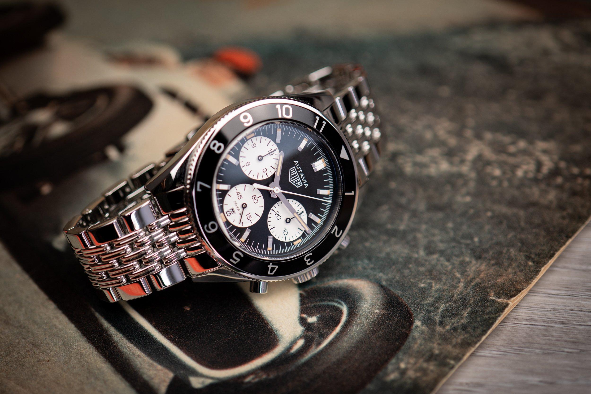 TAG Heuer Autavia Heritage Chronograph Test Vintage vs. Original