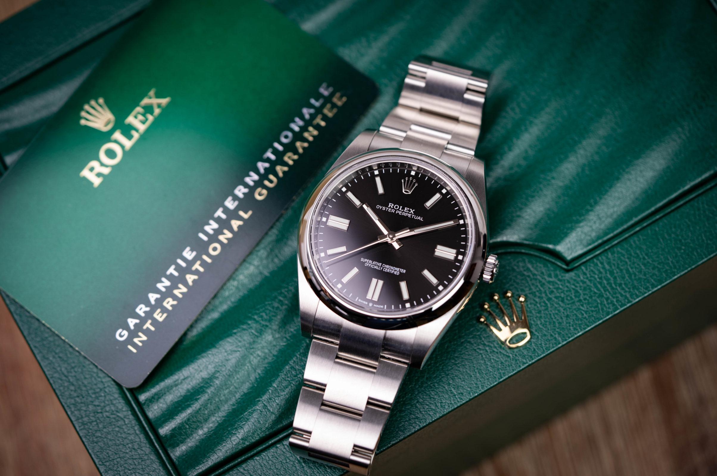 Rolex-Oyster-Perpetual-41-Neue-Garantiekarte