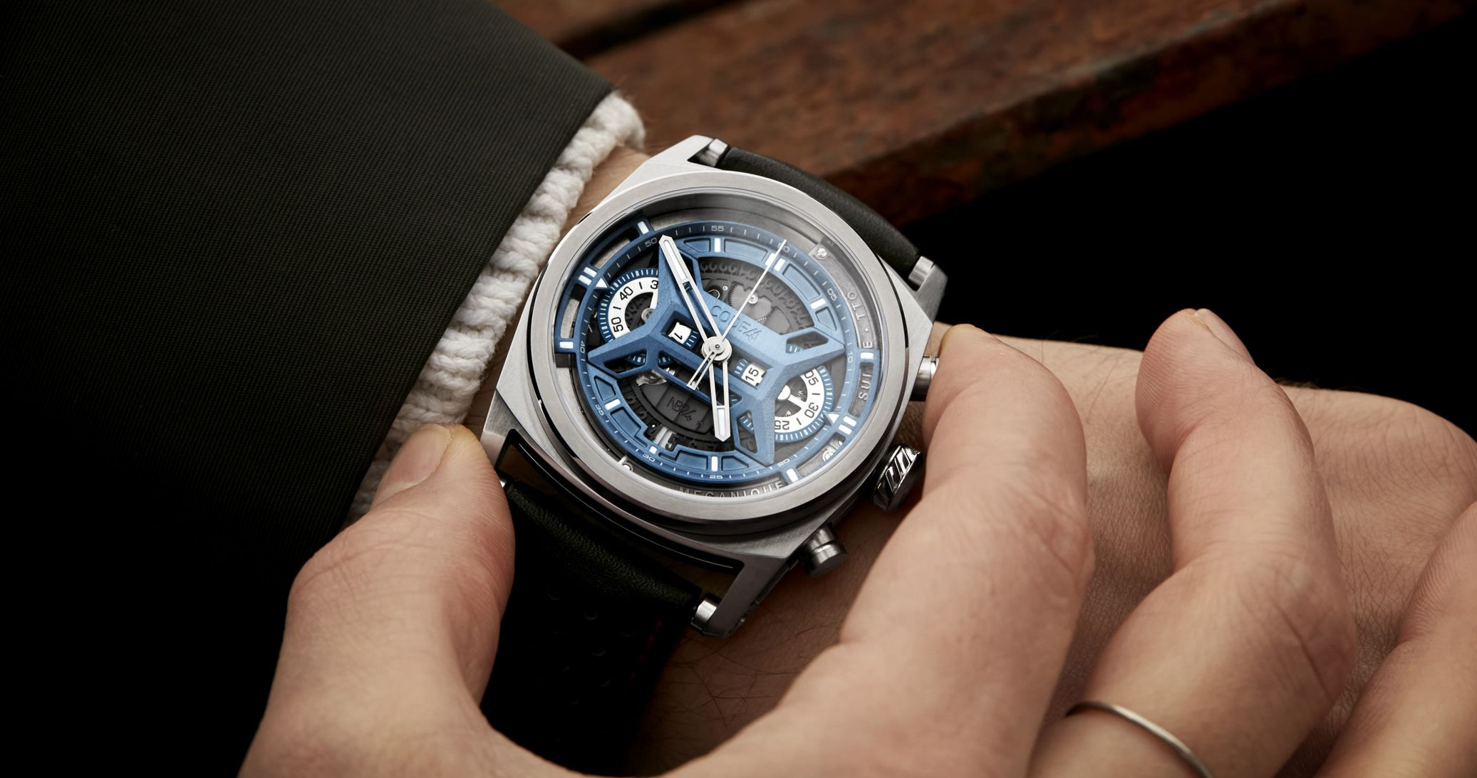 Read more about the article Peripher Rotor trifft Leichtbau: CODE41 Chronograph NB24