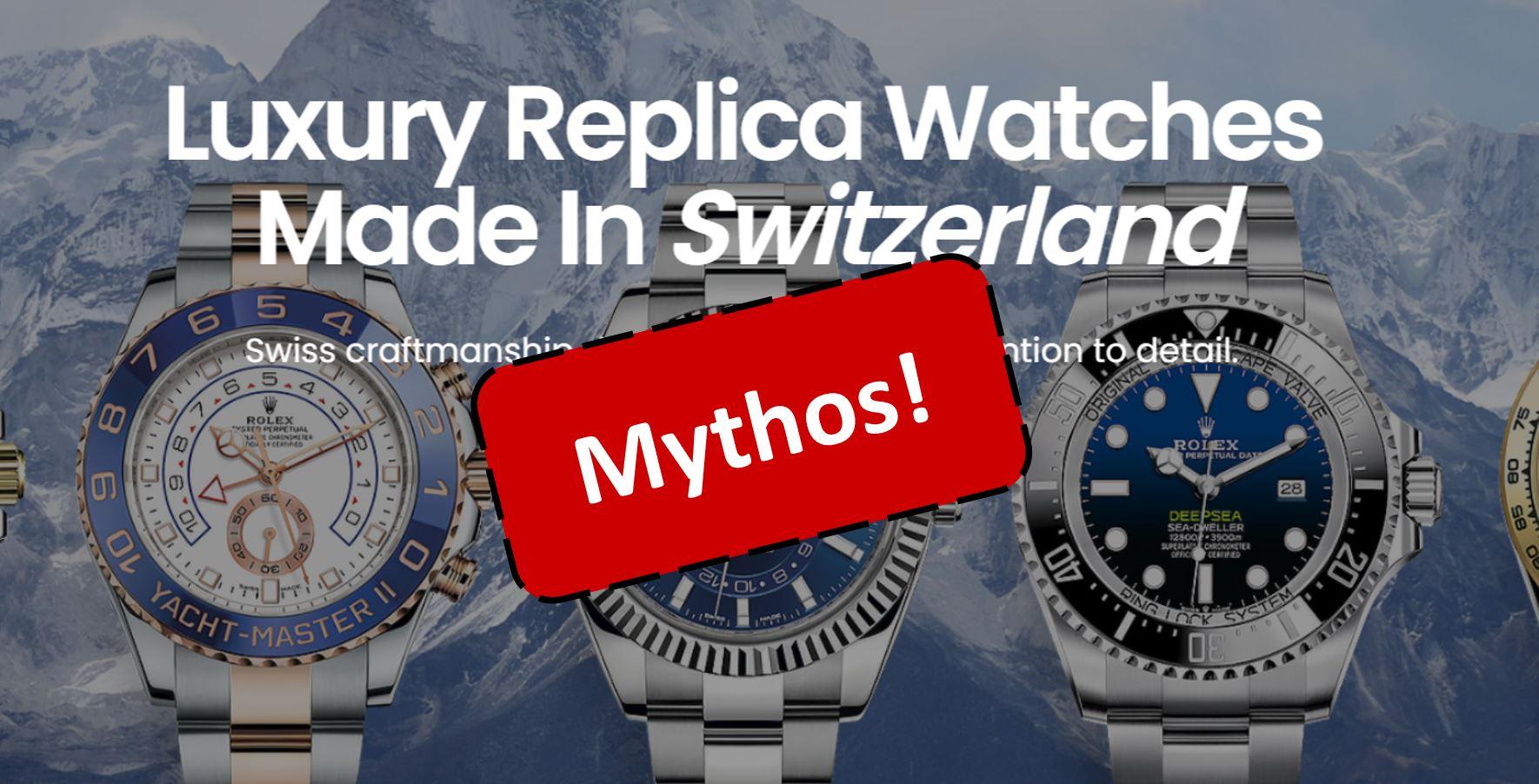 Replika Uhren Shop Mythos