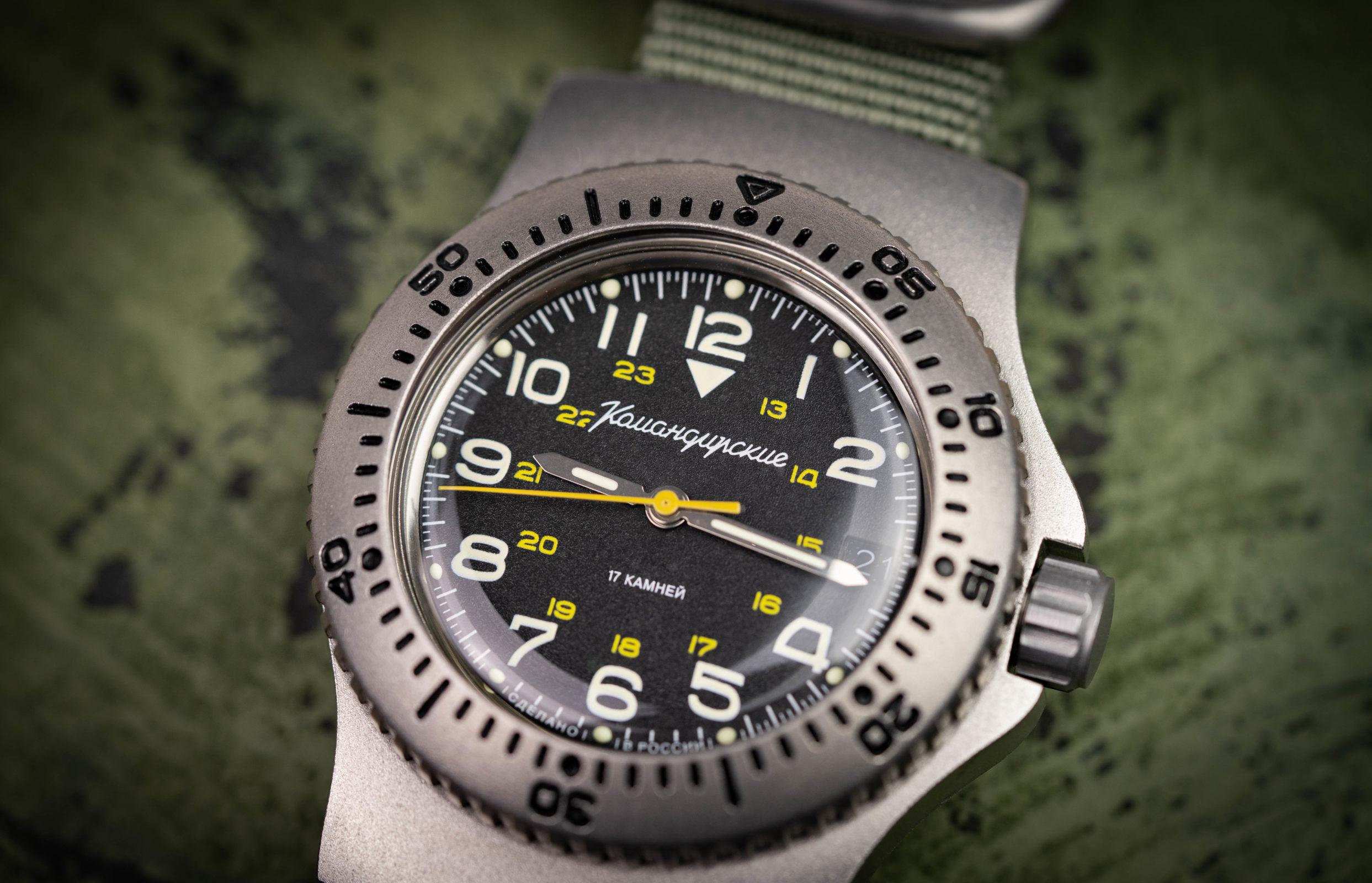 "Read more about the article Vostok Komandirskie Ratnik – ""Armageddon-Proof""?"