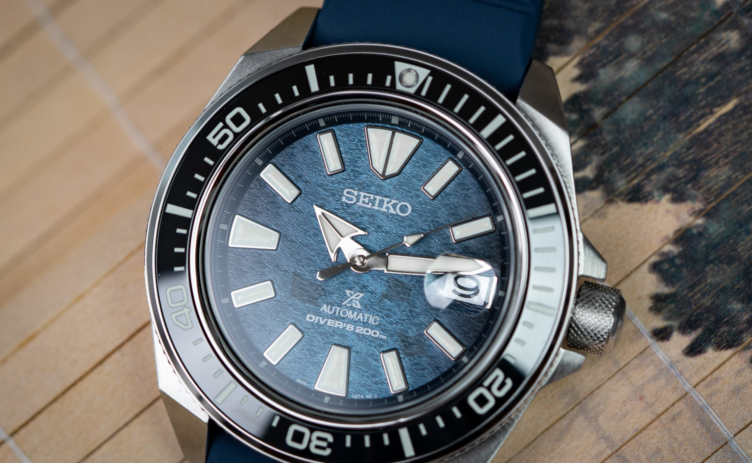 Seiko Samurai Save the Ocean-5