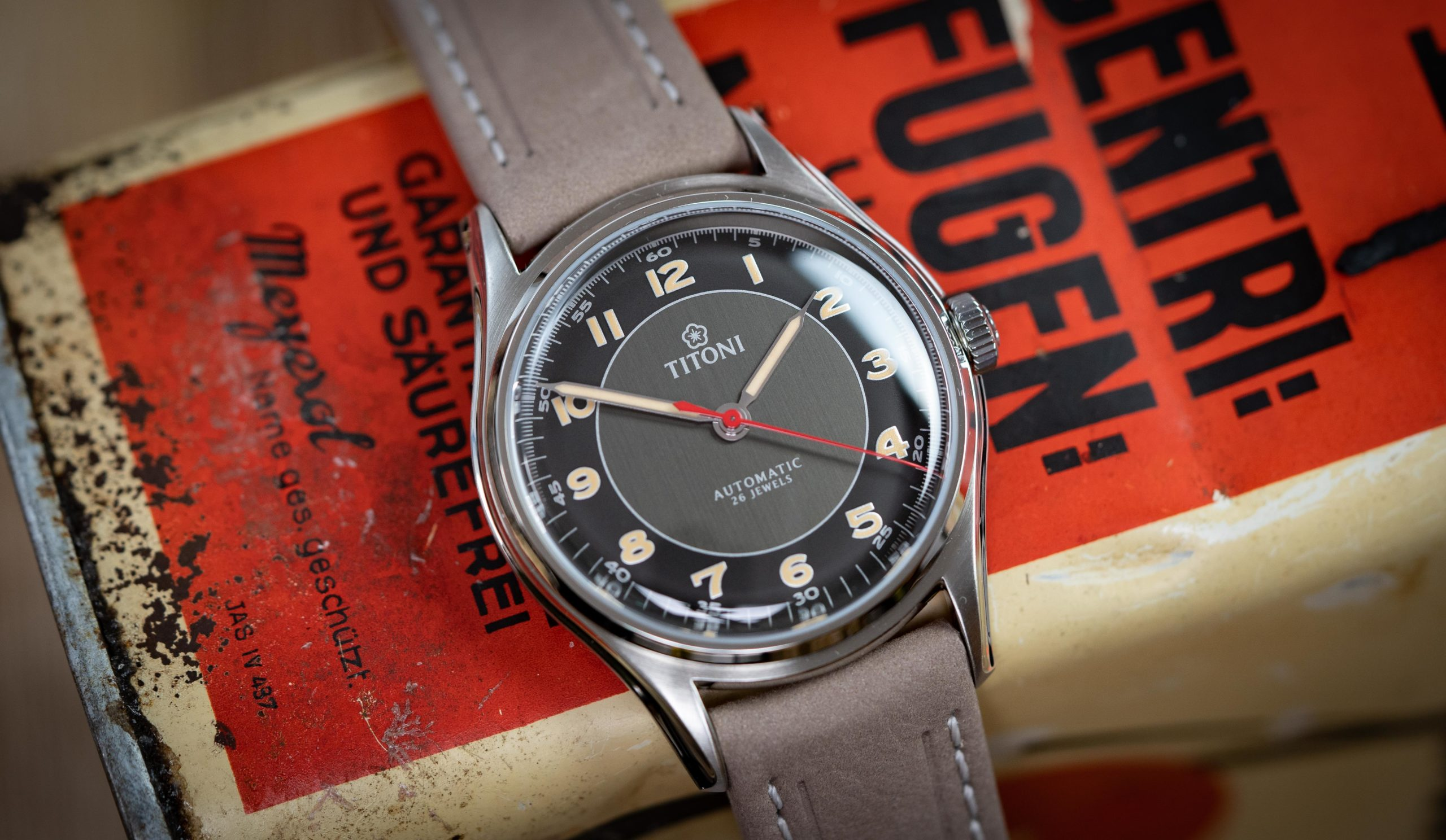 Read more about the article Geheimtipp? TITONI Heritage Retro-Uhr im Test