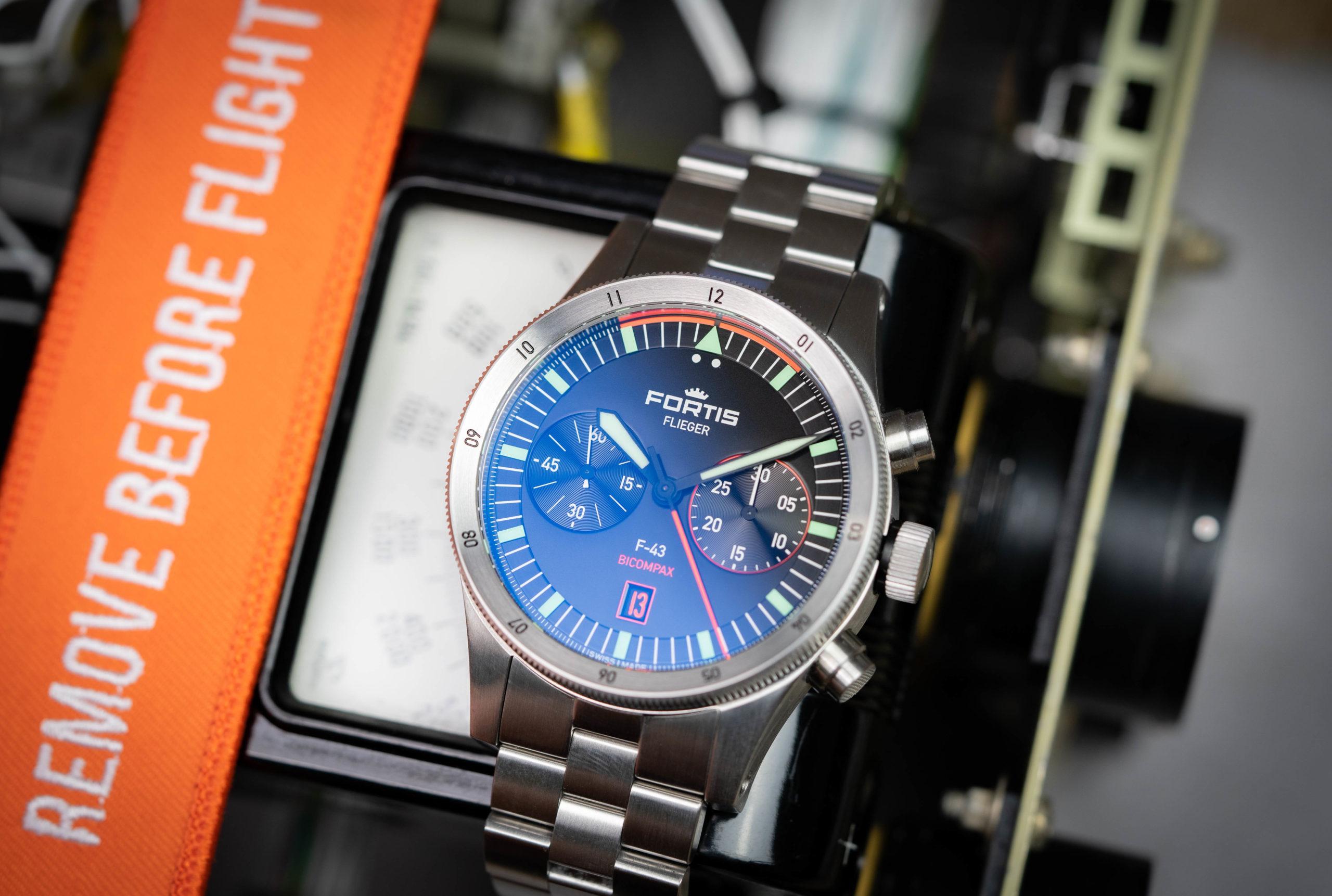 Fortis-Flieger-Automatik-Chronograph