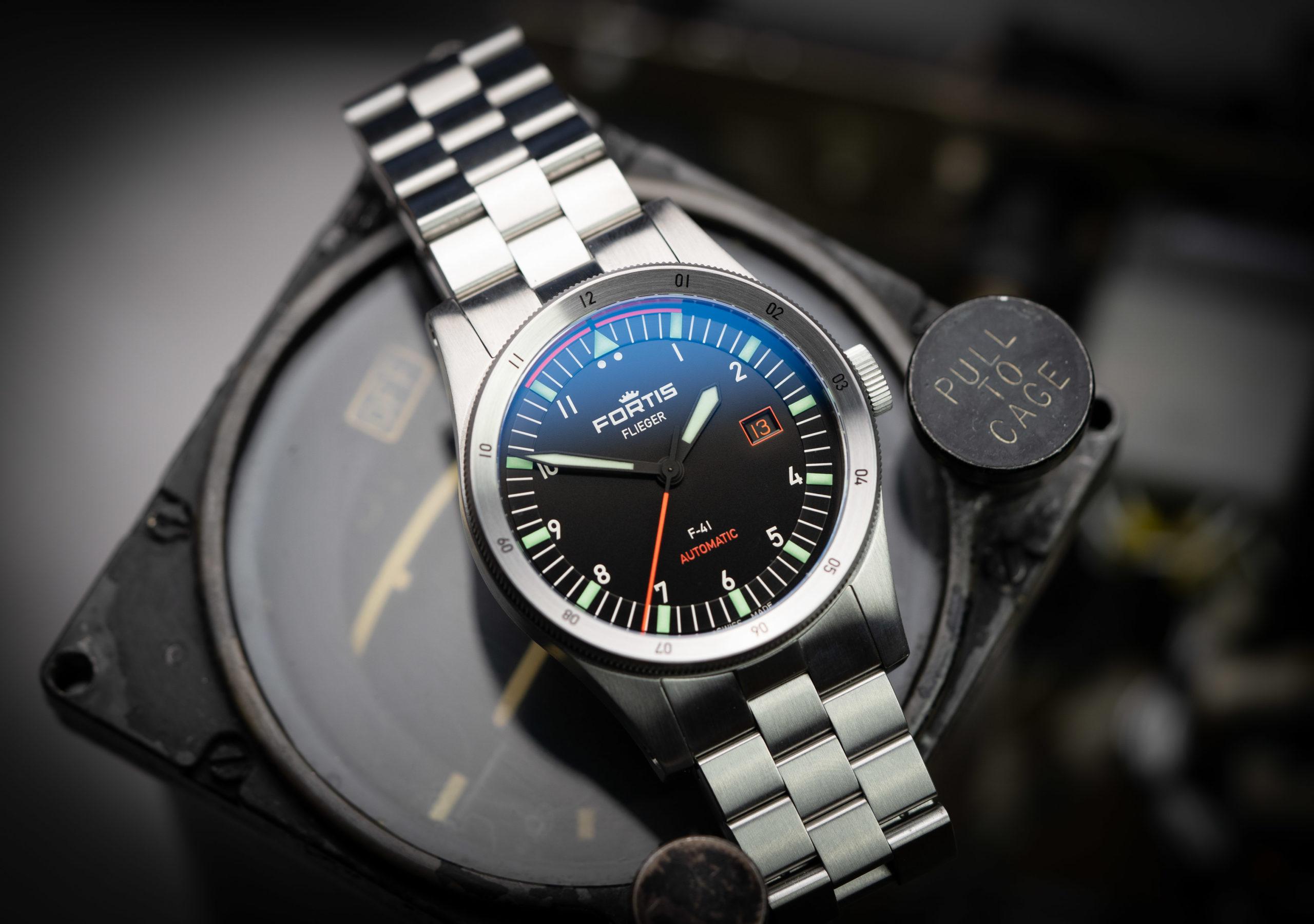 Fortis-Flieger-Automatik-Uhr-F41