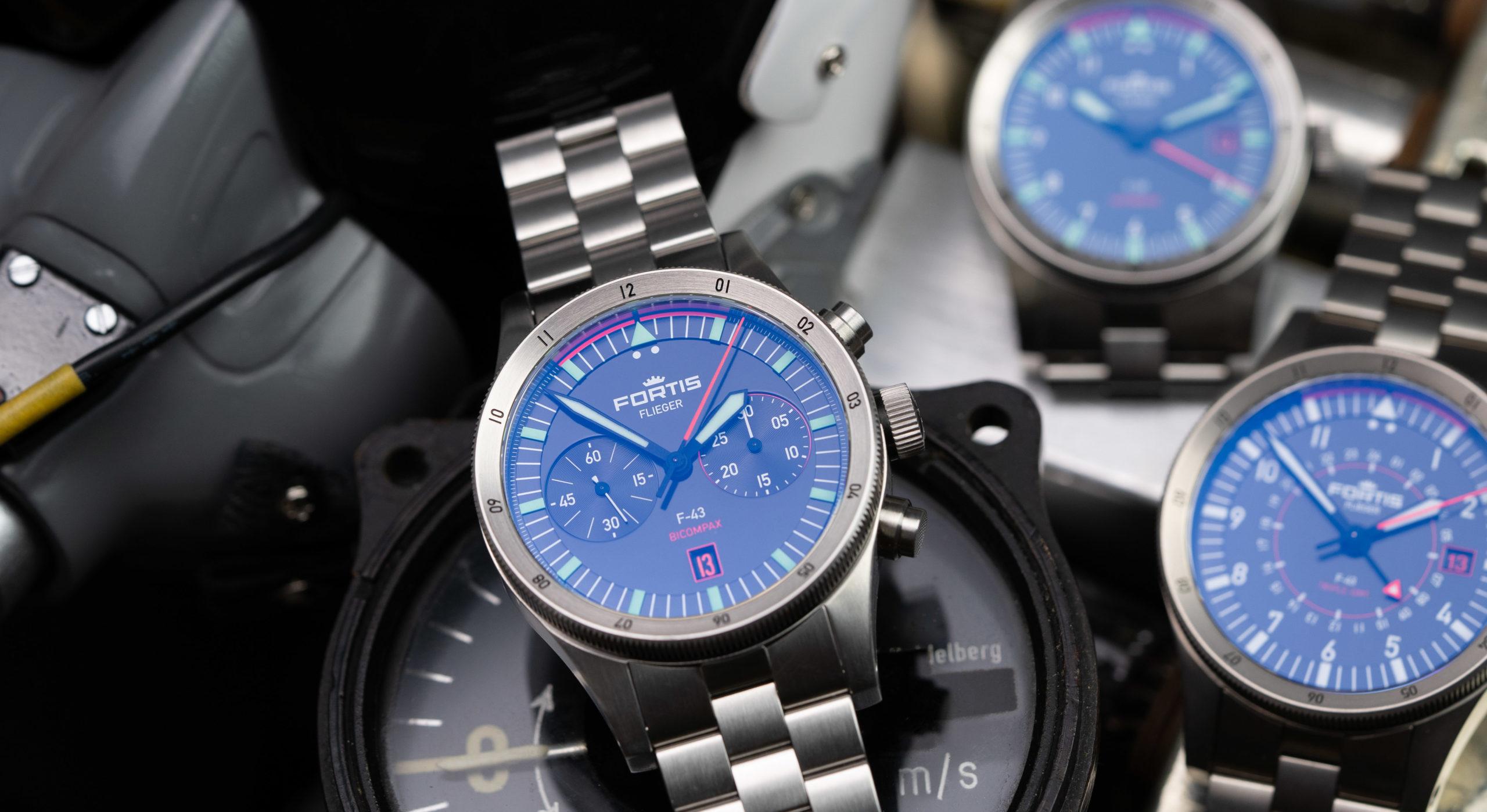 Fortis-Flieger-Uhren