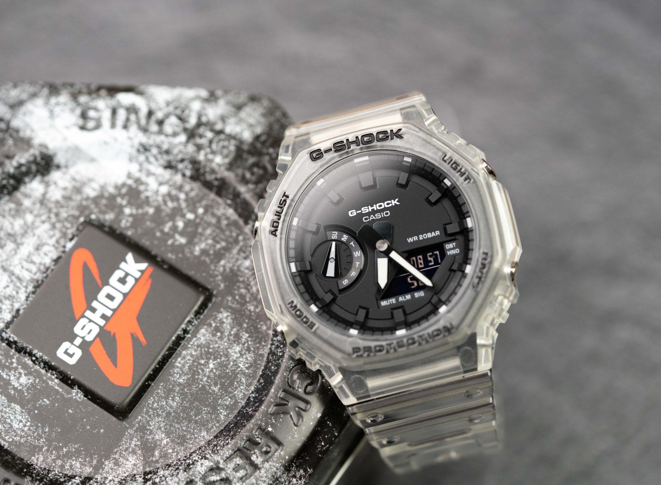 Read more about the article G-Shock CasiOak GA-2100 und Casio GA-900 Black & White Skeleton im Test
