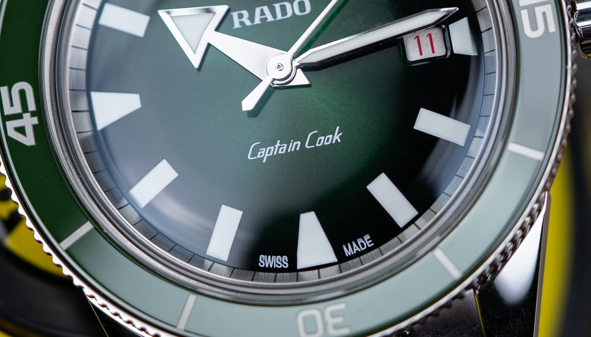 Rado-Captain-Cook-Automatic-Gruen-Test-Uhr