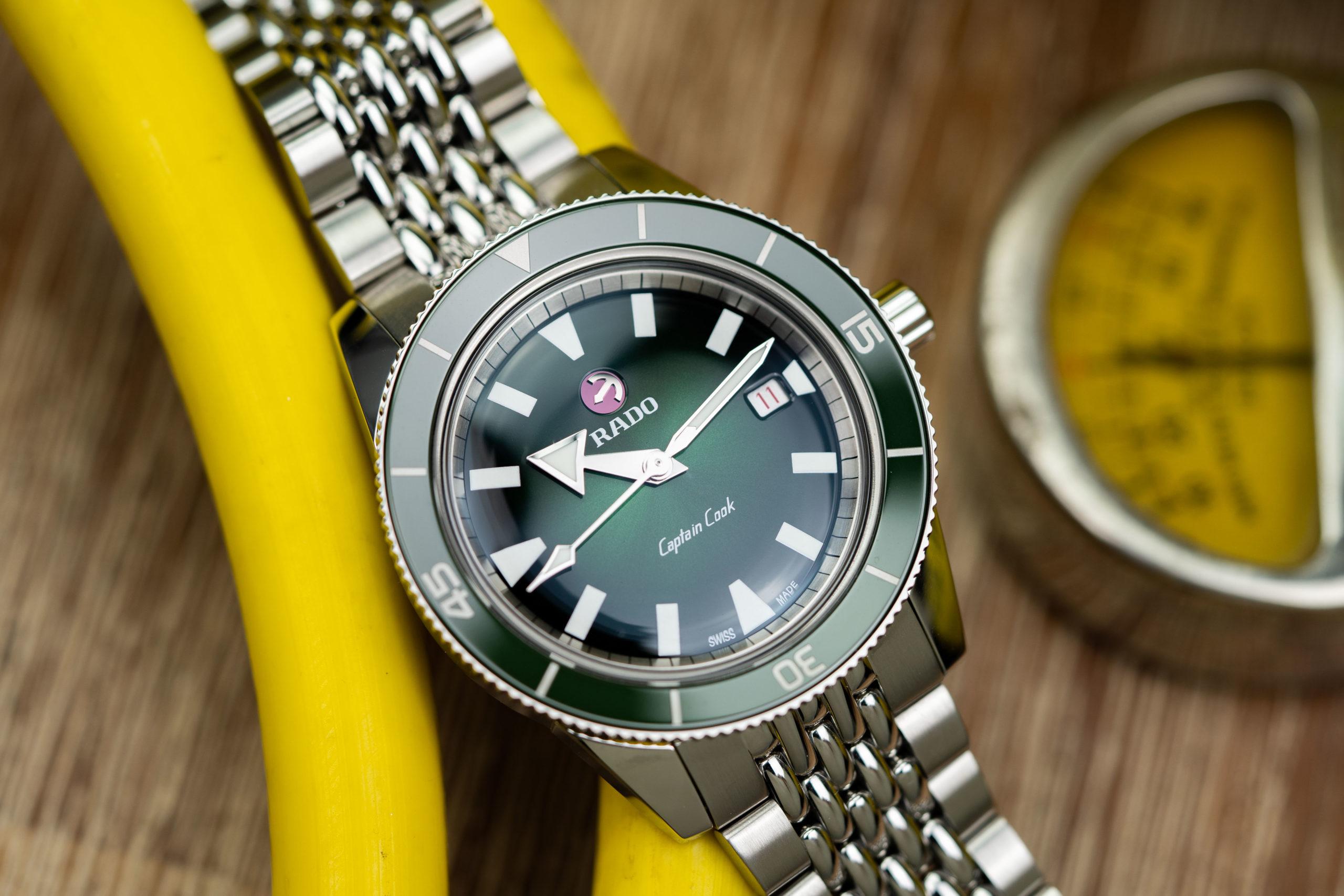 Rado-Captain-Cook-Automatic-green