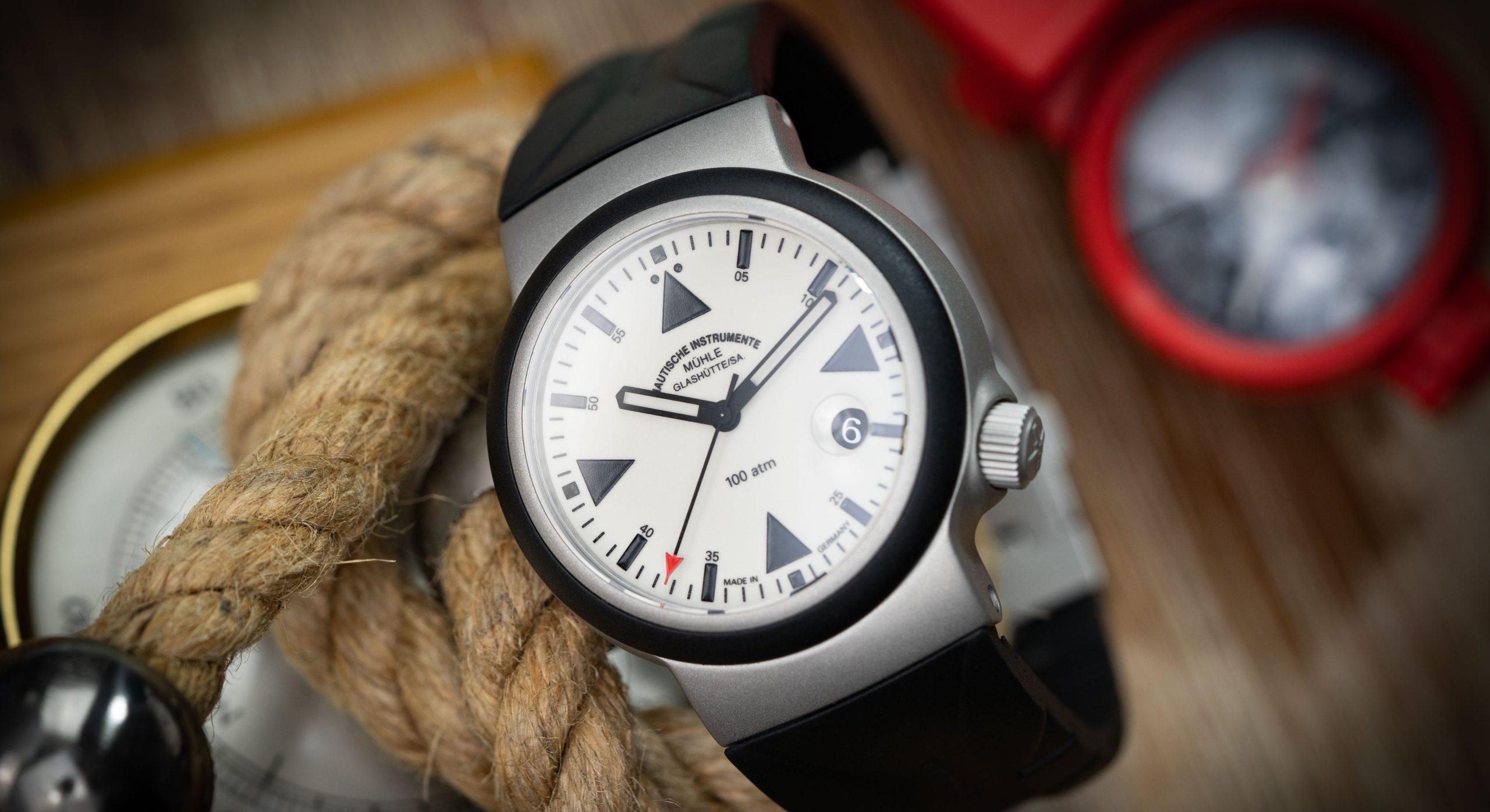 Mühle-Glashütte S.A.R. Rescue-Timer LUMEN: die Seenotretter-Uhr im Test