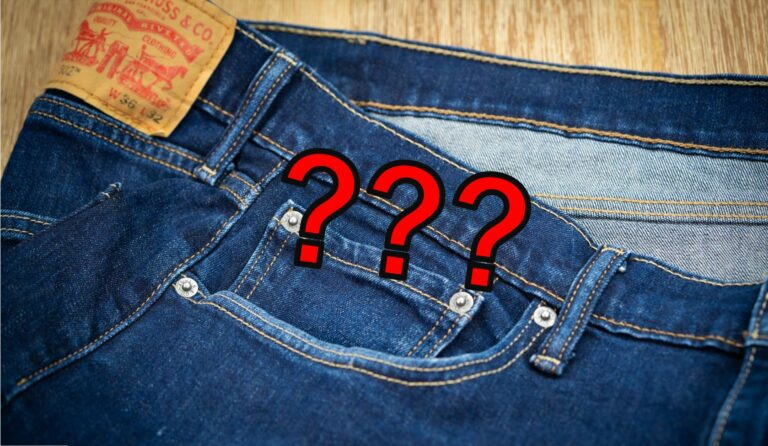FÜnfte Jeans Tasche Five Pocket Sinn Zweck