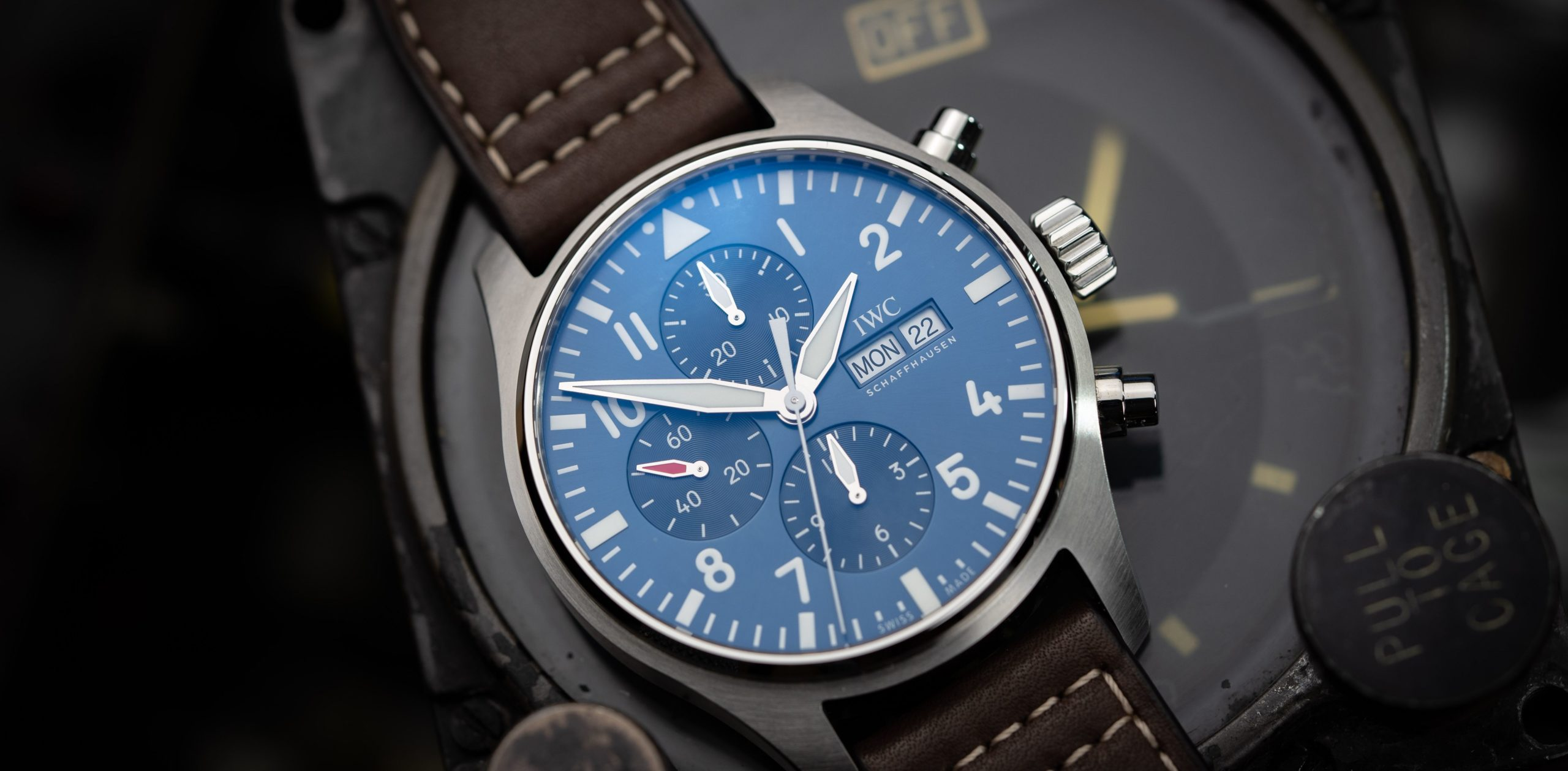 IWC Pilot's Watch Chronograph Le Petit Prince im Check