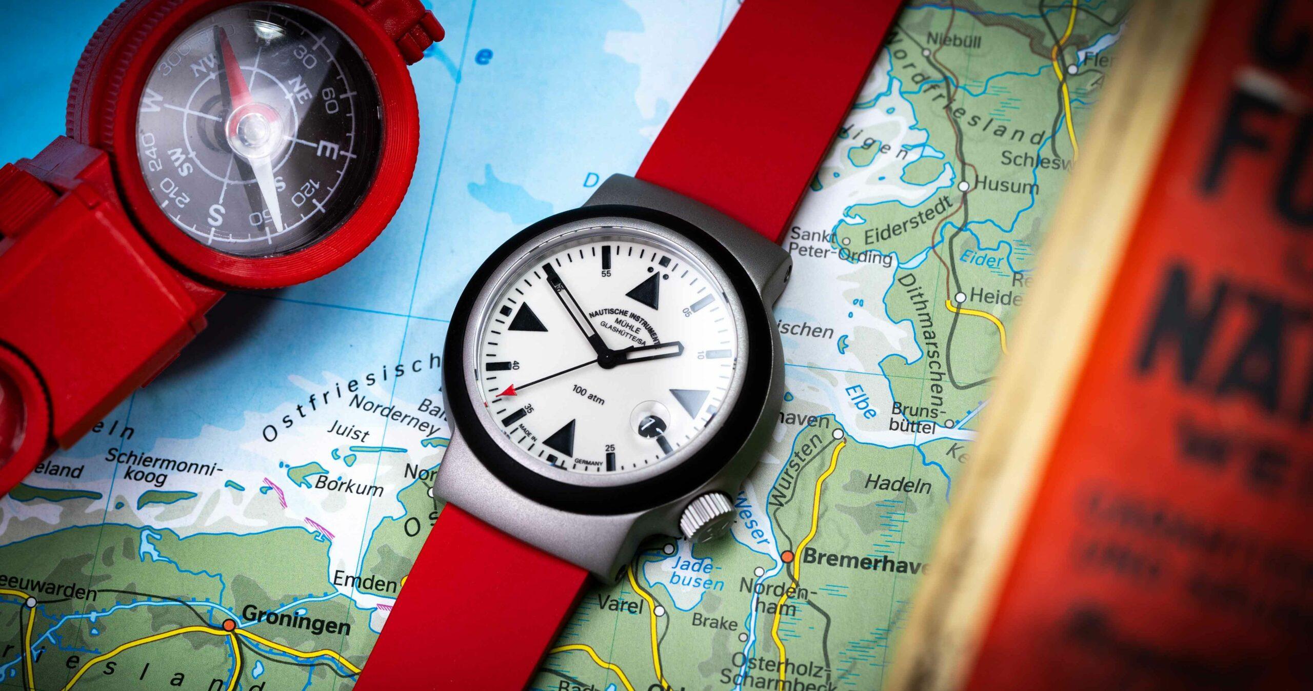 Read more about the article Mühle-Glashütte S.A.R. Rescue-Timer LUMEN: die Seenotretter-Uhr im Test