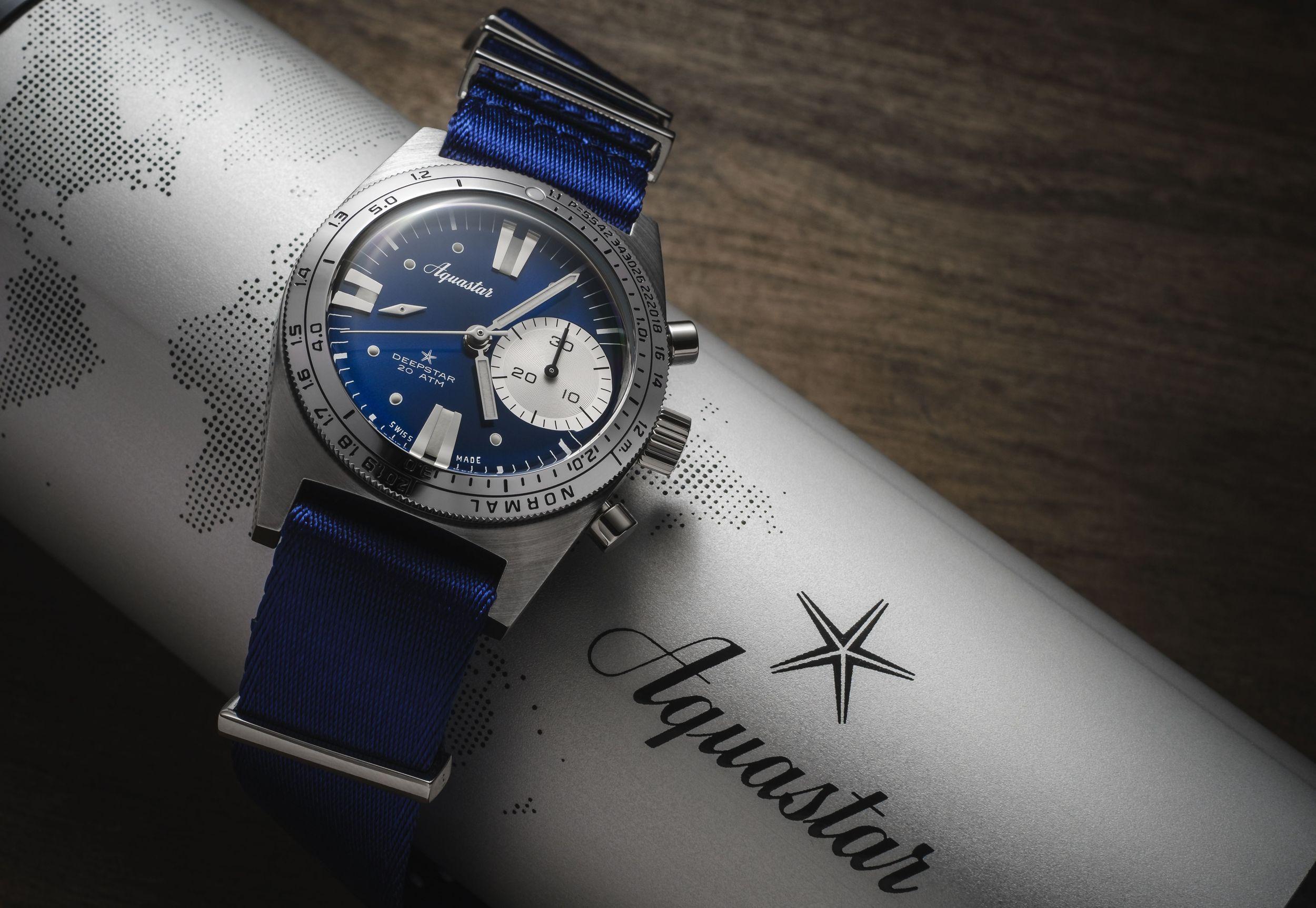 Aquastar Deepstar Chronograph