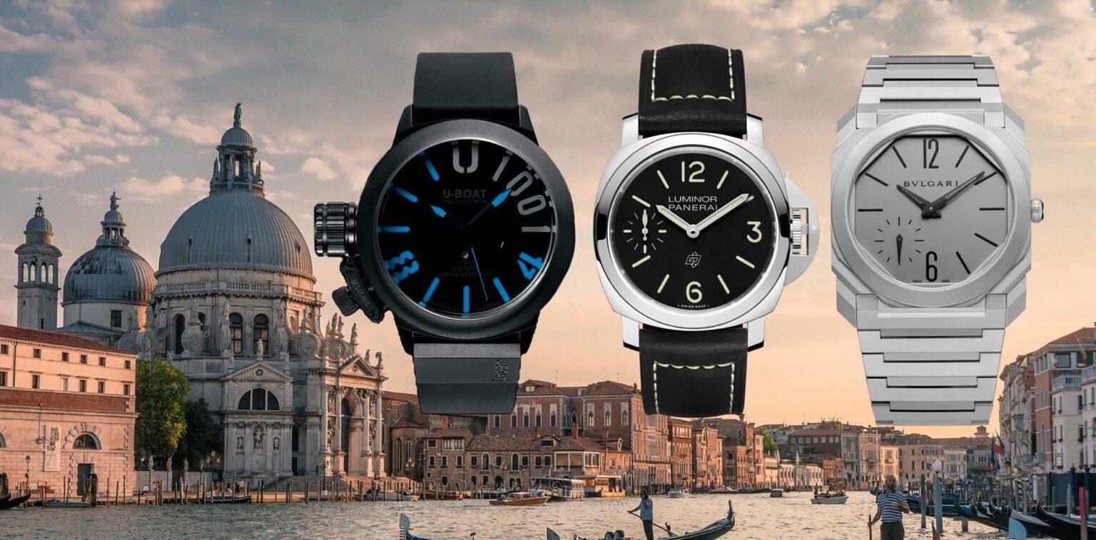 Italienische Uhren-Marken