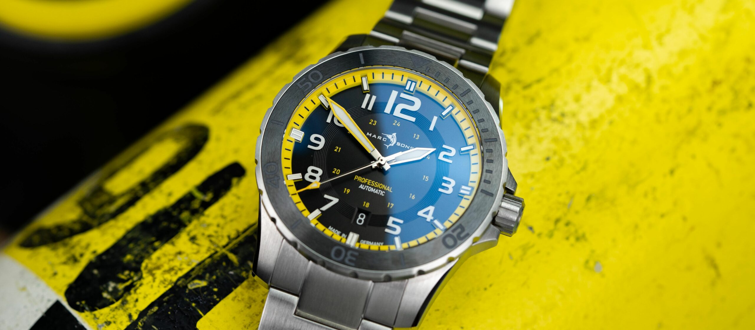 Read more about the article Marc & Sons Sport Professional Yellow im Test / Interview mit CEO Marco Heimrich