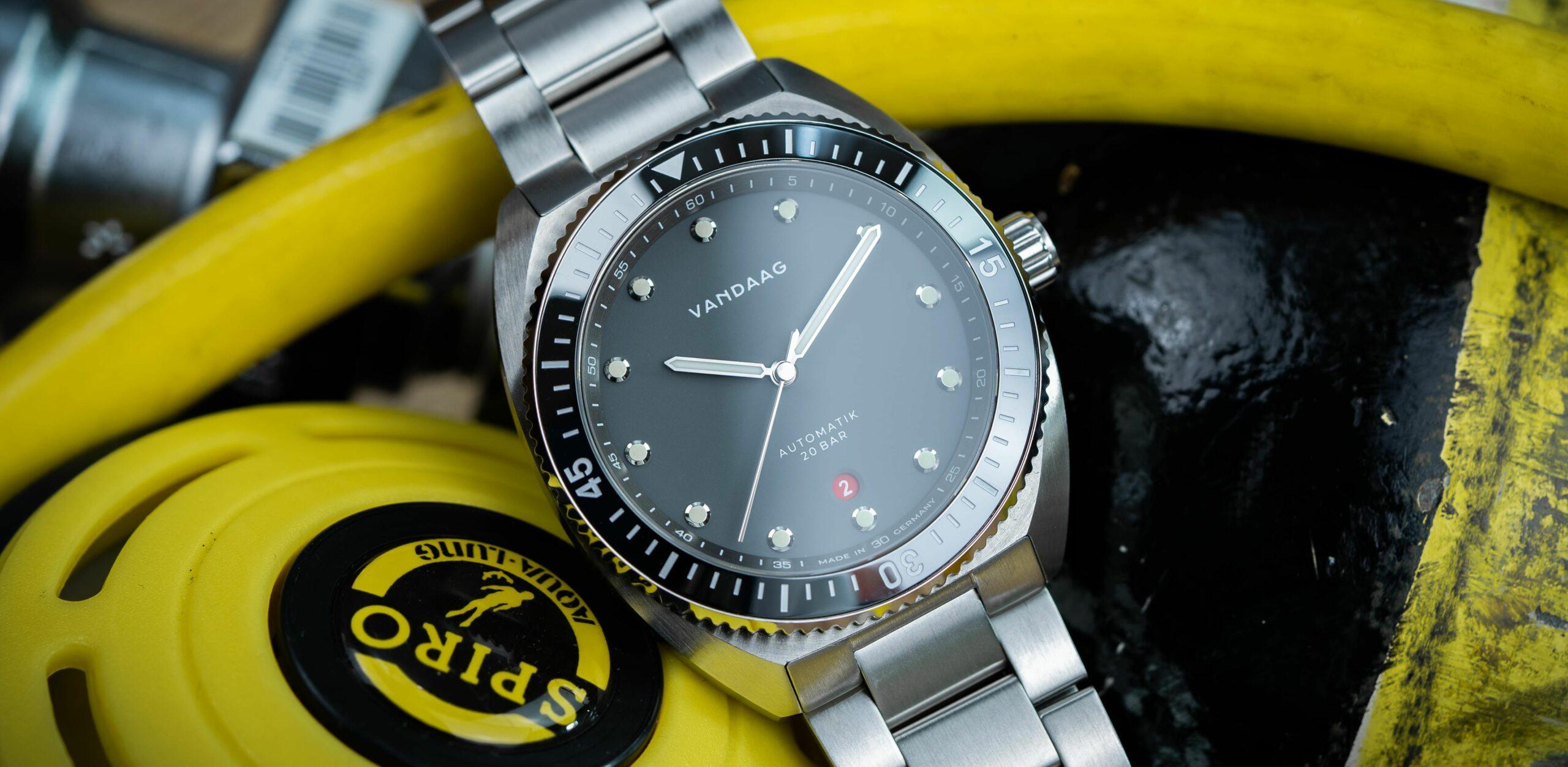 Read more about the article Ohne Gedöns: VANDAAG Uhren – Tiefsee-Diver im Test