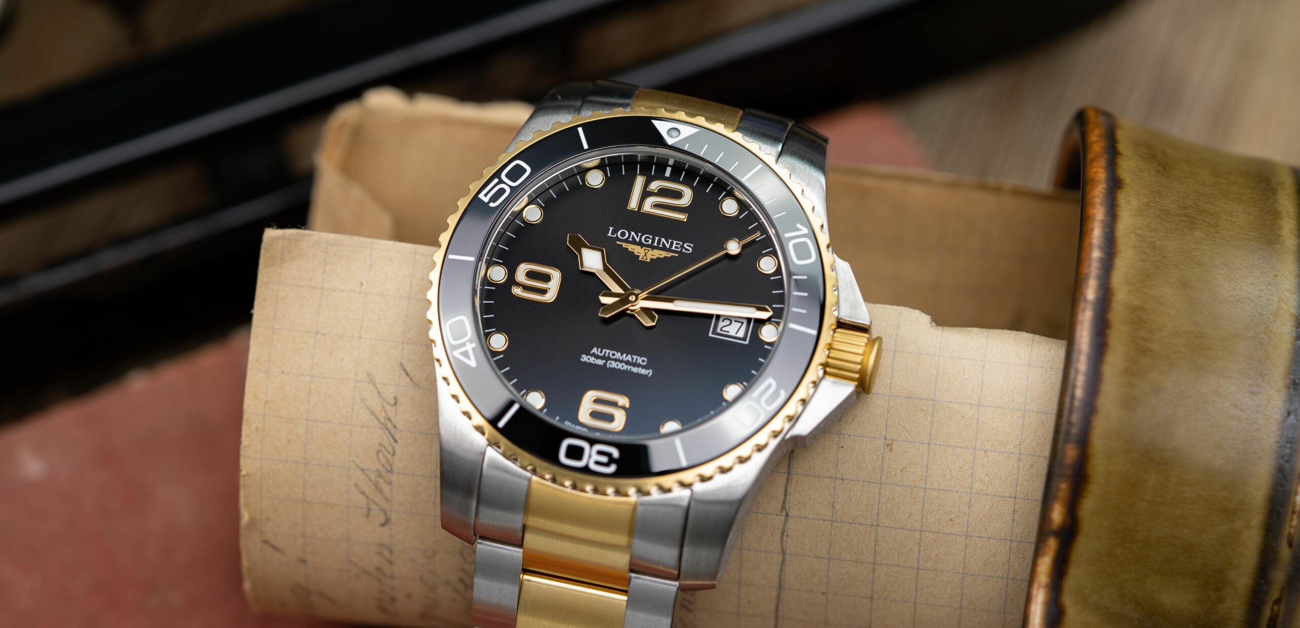 Read more about the article To Bi or not to Bi!? Longines HydroConquest Bicolor-Uhr im Hands-On / Liste Bicolor-Uhren